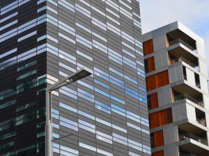 commercial buildings skyline
